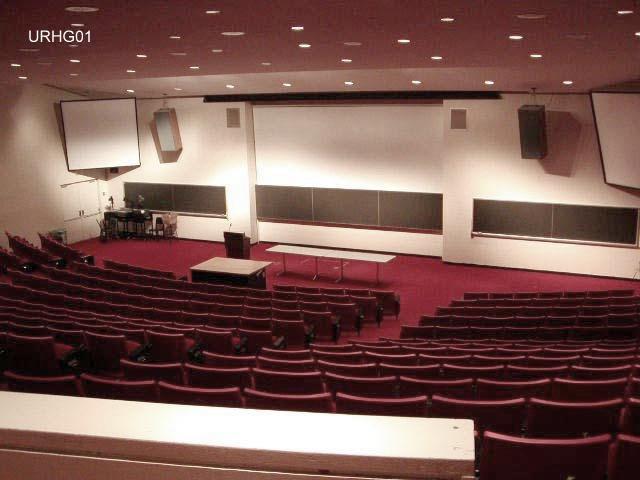 Uris Hall G01 Auditorium And Ground Floor Classrooms